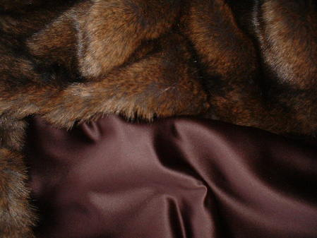Chocolate Satin Swatch