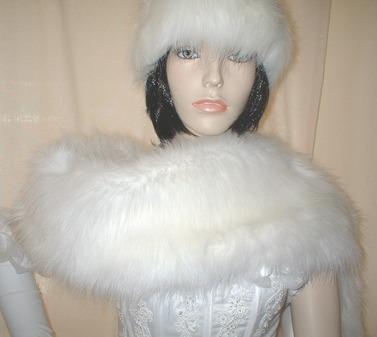 Polar Bear Faux Fur Fling