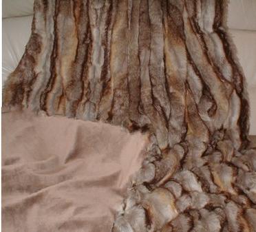 Sahara Faux Fur Throw