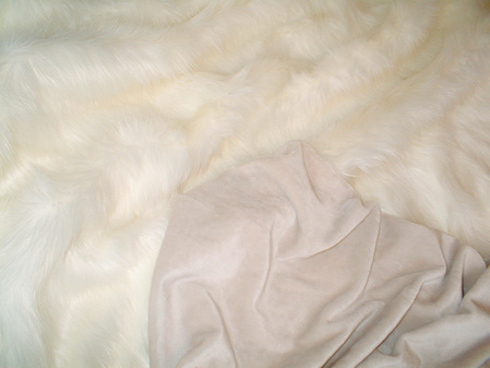 Cream Cuddle Soft Velboa