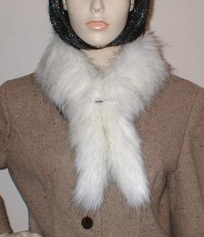Alaska Faux Fur Slim Collar/Headband