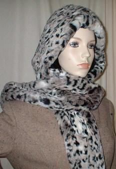 Wild Cat Faux Fur Hoodie