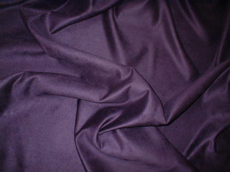 Plum Faux Suede Swatch