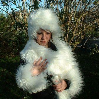 Polar Bear Faux Fur Hat