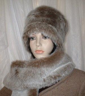 Koala Faux Fur Hat