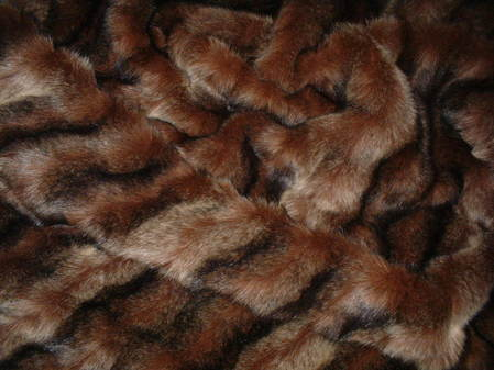Russian Sable Faux Fur Swatch