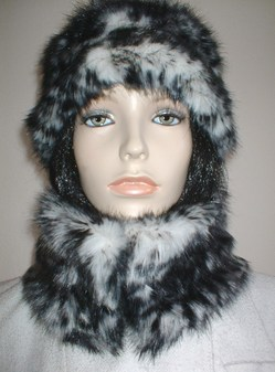 Panther Faux Fur Short Collar