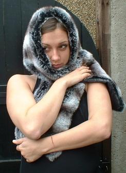 Chinchilla Faux Fur Fling