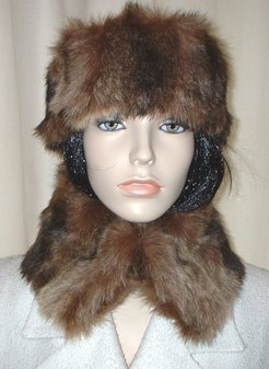 Russian Sable Faux Fur Collar