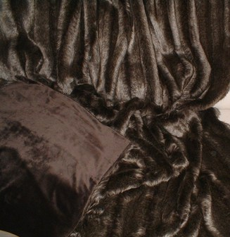 Rocky Mountain Faux Fur Throw