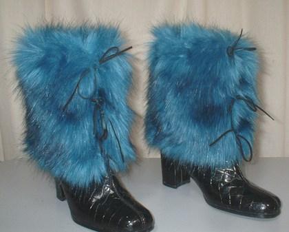 Women Gt Faux Fur Cuffs Muffs Mittens And Leg Warmers