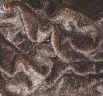 Brown Bear Faux Fur per meter