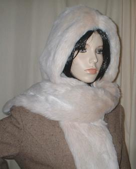 Sunny Bear Faux Fur Hoodie