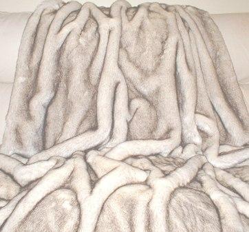 Polar Fox Faux Fur Per meter