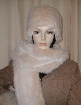 Sunny Bear Faux Fur Hat