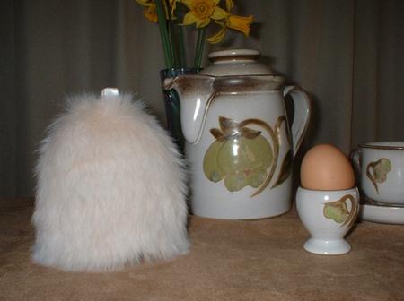 Faux Fur Egg Cosies