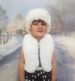 Children's Faux Fur Bolero