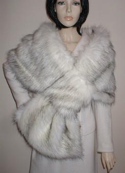 Alaska Faux Fur Pull Through Stole