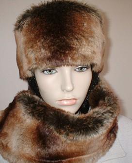 Madagascar Faux Fur Hat