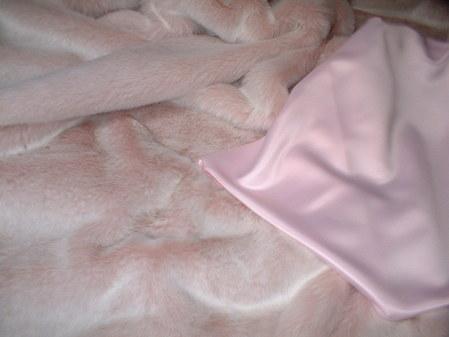 Pastel Pink Satin Swatch