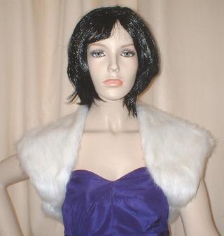 Snow White Faux Fur Shrug