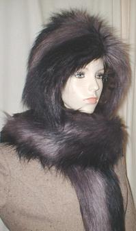 Misty Faux Fur Hoodie