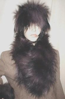 Misty Faux Fur Neck Scarf