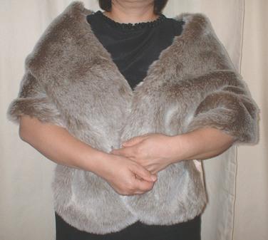 Koala Faux Fur Stole
