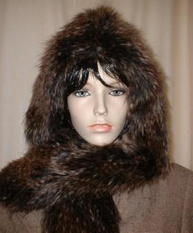 Kodiac Bear Faux Fur Hoodie