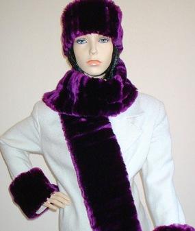 SALE Tissavel Indulgence Faux Fur Scarf