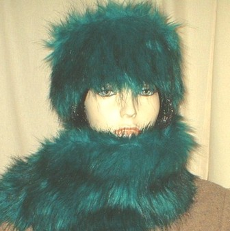 Jade Faux Fur Hat