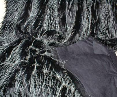 Pepe Faux Fur Throw