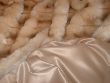 Coffee Cream Satin