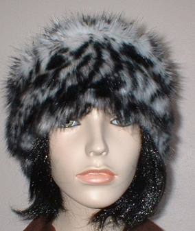 Panther Faux Fur Headband