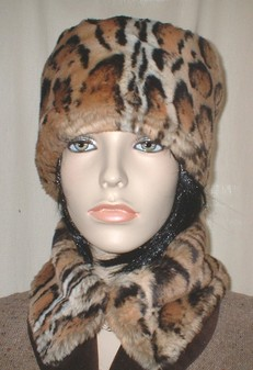 Jaguar Faux Fur Collar