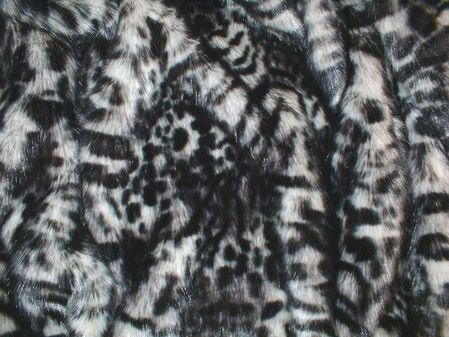Panther Faux Fur Swatch