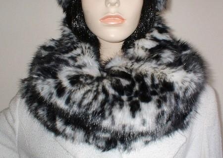 Panther Faux Fur Cowl